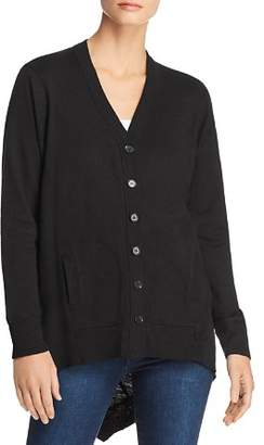 Wilt High/Low Cotton Cardigan