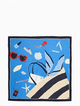 Kate Spade Purse silk square scarf