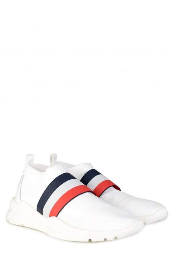 MonclerAdonSneakersWhite
