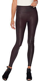 As Is Spanx Faux Leather Leggings $58 thestylecure.com