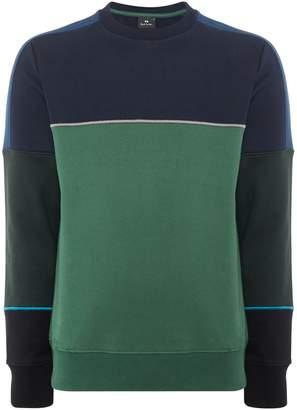 Paul Smith Men's Cut And Sew Sweatshirt