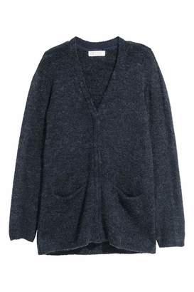 H&M Knit Cardigan - Dark blue - Kids