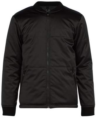 A.P.C. Ned Satin Bomber Jacket - Mens - Black