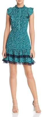 Adelyn Rae Gemma Ruffle Sleeve Dress
