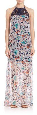 Ella Moss Tahiti Garden Maxi Dress $298 thestylecure.com
