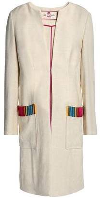 Etro Bead-Embellished Silk And Hemp-Blend Jacket