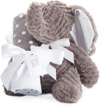 Swankie Blankie Ziggy Elephant & Blanket Gift Set, Slate