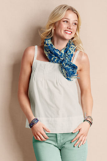 Lands' End Canvas Women's Sunday Morning Cami
