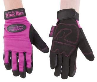 The Original Pink Box PBGS Multi-Purpose Gloves, Pink, Small