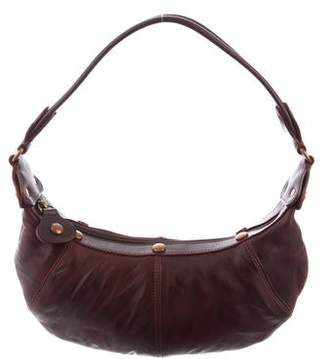 Lancel Small Leather Hobo