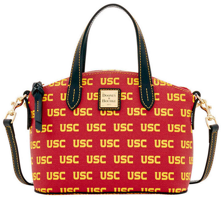 Dooney & Bourke Usc Trojans Ruby Mini Satchel Crossbody - RED - STYLE