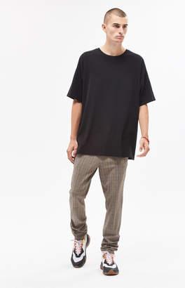 Pacsun Skinny Trouser Brown Plaid Pants