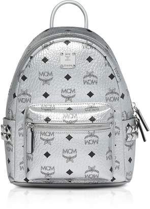 f85d936d9c080 MCM Berlin Silver Side Studs Visetos Stark Backpack 27