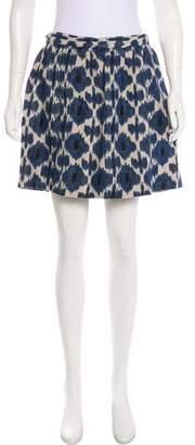 MICHAEL Michael Kors Linen Ikat Skirt