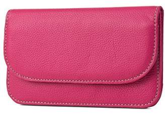 Mundi Womens Flap Envelope Clutch RFID Blocking Wallet With Safe Keeper Technology