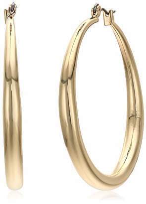 Kenneth Cole New York Women's Large Gold Hoop Earrings