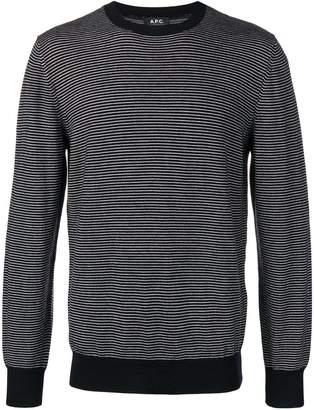 A.P.C. striped pullover