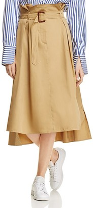 Weekend Max Mara Goya Belted Skirt - 100% Exclusive $350 thestylecure.com