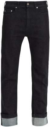 Neil Barrett Mid-rise straight-leg jeans