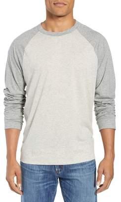 James Perse Regular Fit Baseball T-Shirt