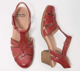 Earth Leather Mary Janes - Marietta Capella