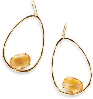 Ippolita 18k Rock Candy® Suspension Earrings in Orange Citrine