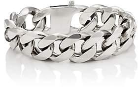 Martine Ali Men's Cuban-Link Chain Bracelet - Silver