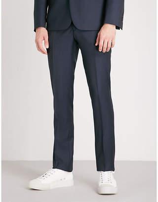 Sandro Slim-fit straight wool trousers