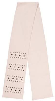 Dolce & Gabbana Embellished Cashmere Scarf
