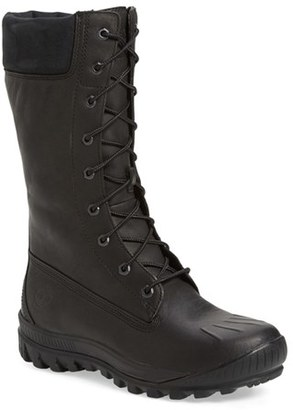 Timberland 'Woodhaven' Waterproof Lace-Up Boot (Women) $199.95 thestylecure.com