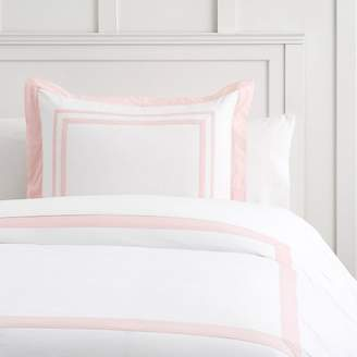 Pottery Barn Teen Suite Organic Sham, Euro, Quartz Blush