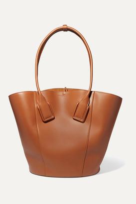 Bottega Veneta Basket Leather Tote - Brown