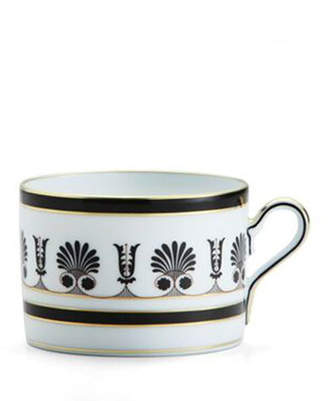 Richard Ginori 1735 Palmette Black Teacup
