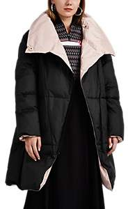 BIANNUAL Women's Reversible Oversized Puffer Jacket