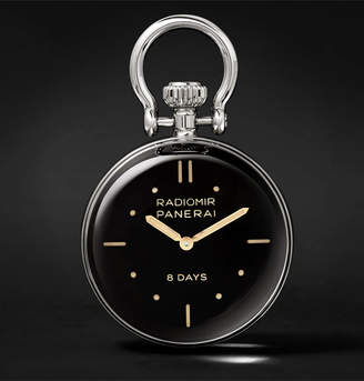 Panerai Officine S.L.C. Stainless Steel Table Clock