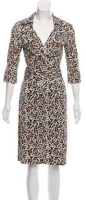 Diane von Furstenberg Denise Silk Dress