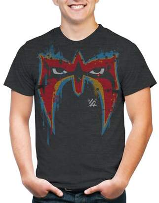 WWE Movies & TV Ultimate Warrior Mask Men's Short Sleeve Graphic T-Shirt