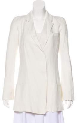 Haider Ackermann Silk Button-Up Blazer