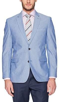 Tommy Hilfiger Men's Single Breast Two Button Blazer