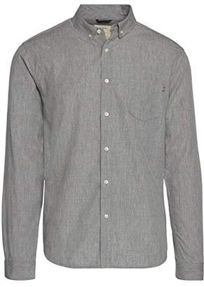 Life After Denim Men's Long Sleeve Slim Fit Tally Dobby Shirt