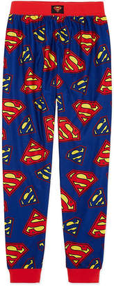 LICENSED PROPERTIES Superman Pajama Set Boys Husky