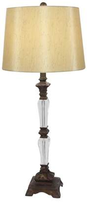 Brimfield & May Traditional Resin and Acrylic Table Lamp, Set of 2