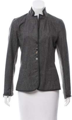 Rivamonti Wool Paneled Blazer