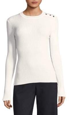 BOSS Ribbed Knit Pullover