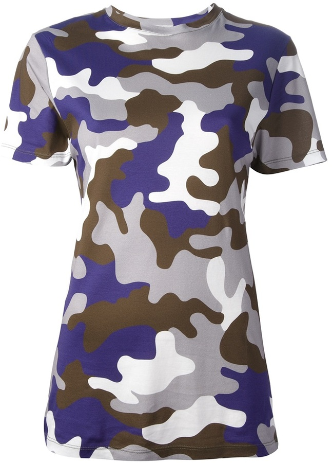 Christopher Kane camouflage t-shirt