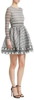 Maje Royan Printed Dress