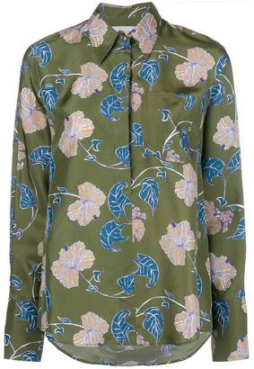 Christian Wijnants floral print oversized shirt