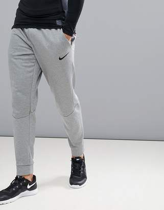 Nike Training Therma Tapered Joggers In Grey 800193-091