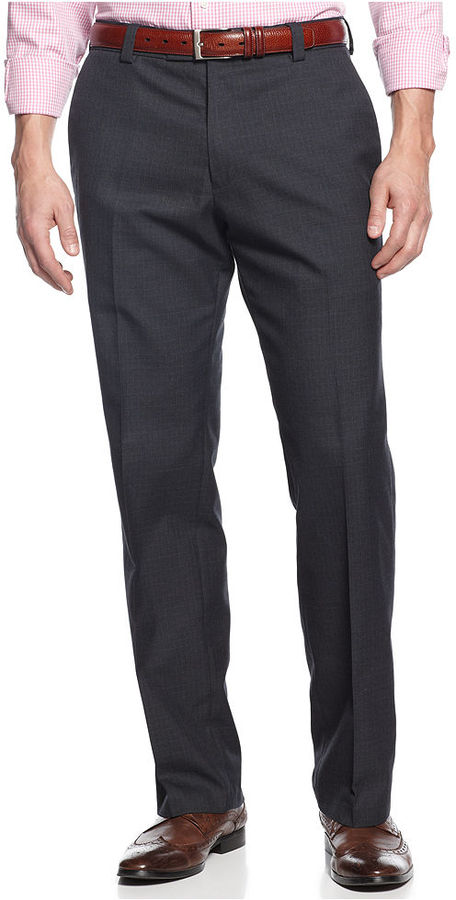 Kenneth Cole Reaction Dress Pants, Slim Fit Mini Windowpane