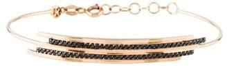 Kismet by Milka 14K Diamond Double Bar Bracelet